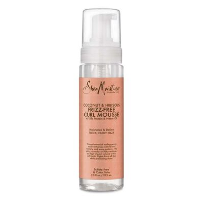 SheaMoisture Curl Mousse with Coconut and Hibiscus
